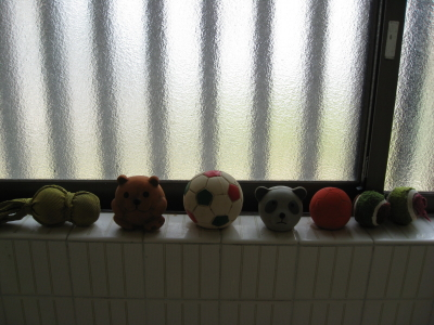 ボールの洗濯