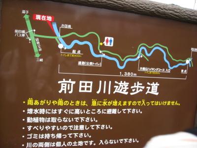 前田川遊歩道