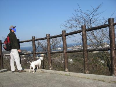 塚山公園で