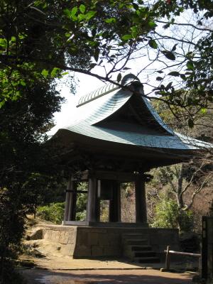 神武寺の晩鐘