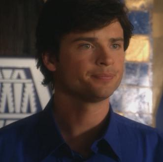 Clark in blue