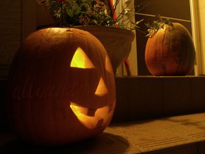 我が家のハロウィンかぼちゃ