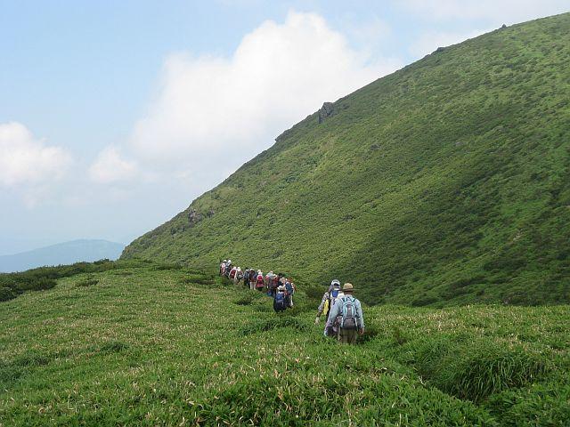 九重連峰 三俣山を歩く