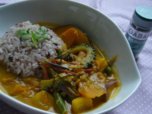 夏野菜タイ風カレー
