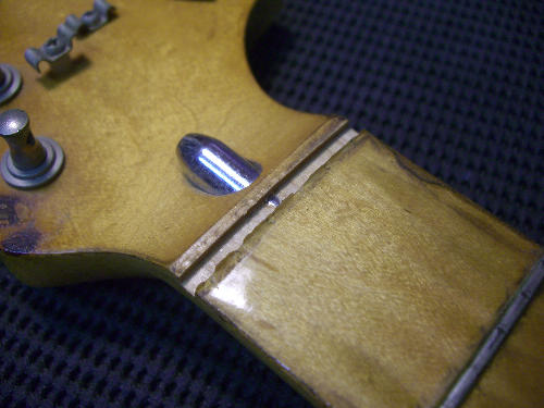 fender strat refret maple neck