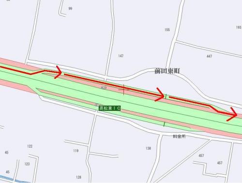 高松東IC