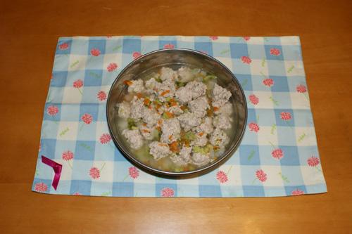02 鶏だんごと野菜の煮物1
