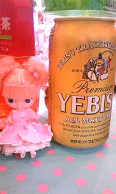 クリオネッチとビール缶