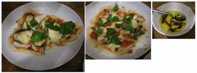 手作りピッツァ!満腹です!2008.1.12