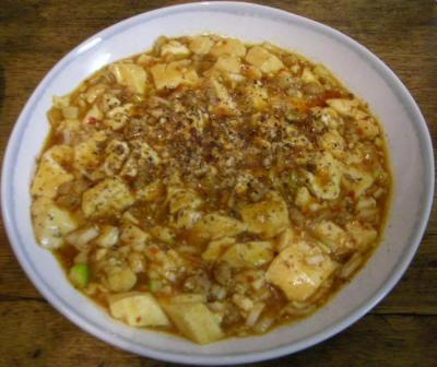 麻婆豆腐。2008.1.30