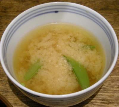 海鮮丼が大好きです!お味噌汁つきで!2008.2.2