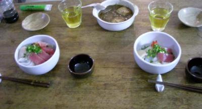 大好きな海鮮丼!2008.2.13