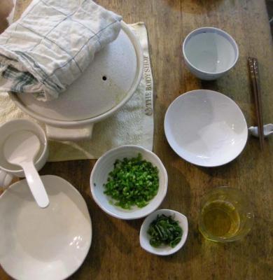 今夜は炊き込み土鍋ごはん。2008.2.16