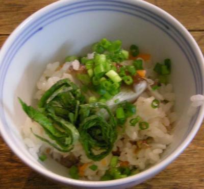 鯛の炊き込み土鍋ごはん!2008.2.16