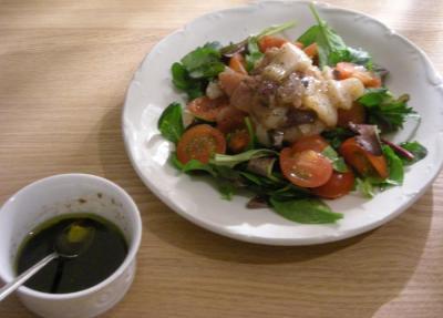 HAPPY BIRTHDAY スペシャルディナー 魚介のカルパッチョ 2008.2.22