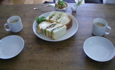 2種類のサンドイッチ!2008.2.24