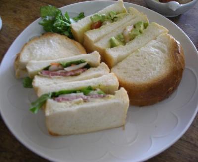 2種類のサンドイッチ!!2008.2.24