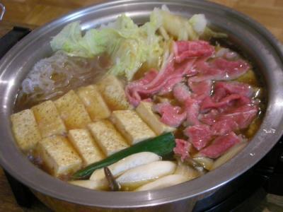 すき焼き!すき焼き! 2008.2.28