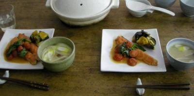 炊き込みご飯とキングサーモン!2008.3.22