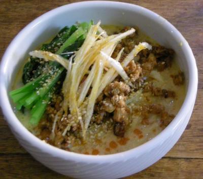 担々麺 2008.3.24