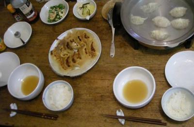 3種の餃子祭り!2008.3.25