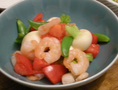 とカブとトマトのサラダ 2008.4.3