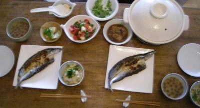 和食が好き!さかな定食 2008.4.20
