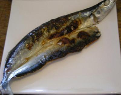 和食が好き!さんまの干物 2008.4.20
