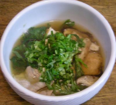 具たくさんのスープ!2008.4.24