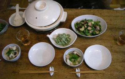 今日はグリーンがいっぱい!野菜がいっぱい!2008.4.25