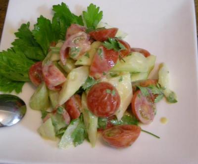 トマトとセロリのサラダ 2008.4.30