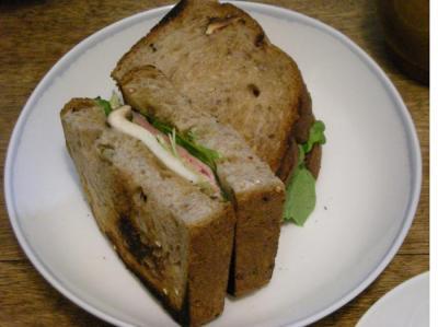 ハムとチーズのサンドイッチ 2008.5.6