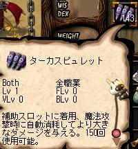 【補助スロット弾薬】