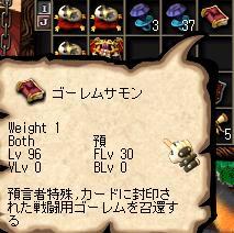 【ゴーレムサモンのスペルブック】