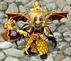 【金色の戦士】