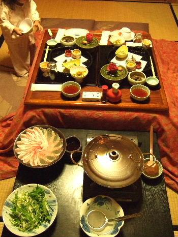 笹屋夕食1