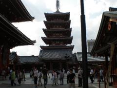 浅草寺の塔