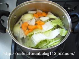野菜スープ①