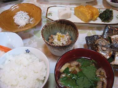 りんと和食