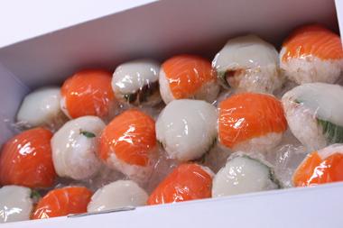 手まり寿司-