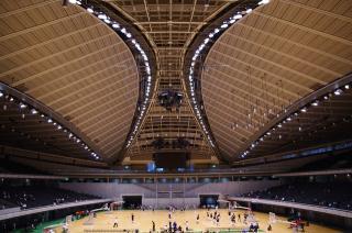 東京体育館中