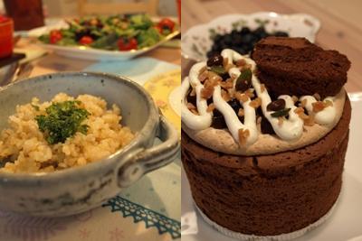ランチ&ケーキ