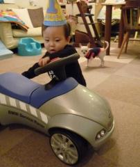 ぼくの車だよ