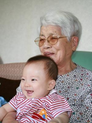 ひいおばあちゃんとTsubaki