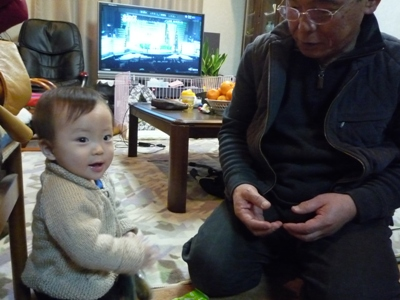 おじいちゃんとTsubaki