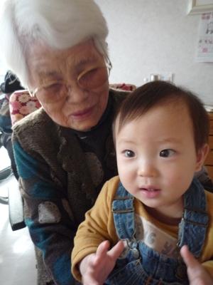 おばばちゃんとTsubaki