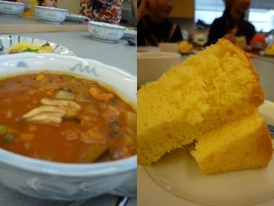カレー&シフォンケーキ
