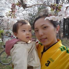 yocchanとTsubakiと桜