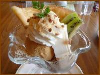 塩キャラメルチーズプリンパフェ