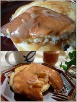 生キャラメルクリーム&パンケーキ